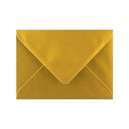 Briefumschlag C6 gold. Umschläge von Frecher Fritz.