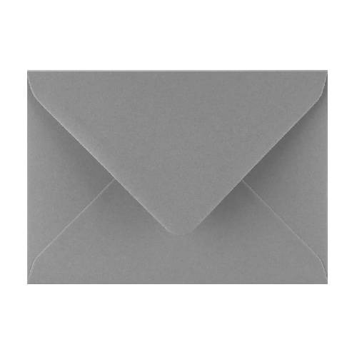 Briefumschlag C6 grau